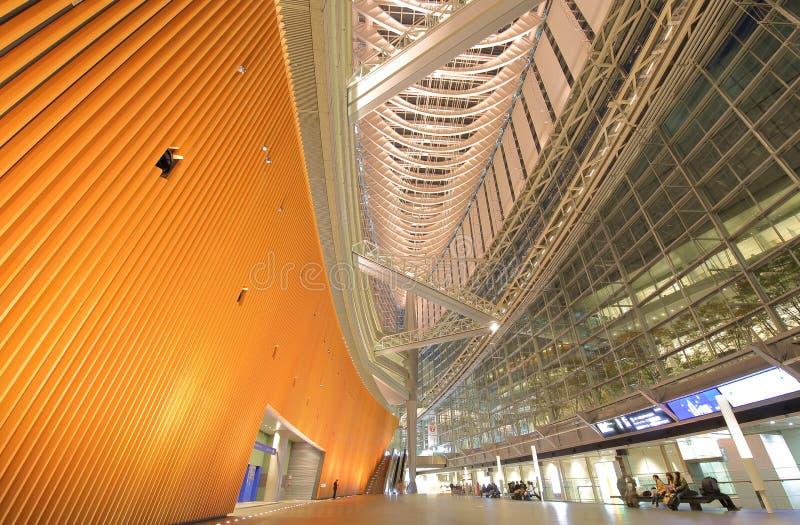 Tokio międzynarodowego forum nowożytna architektura buduje Japonia zdjęcia royalty free