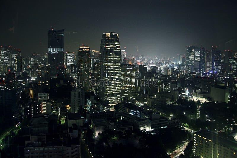 Tokio nocy widok zdjęcia royalty free