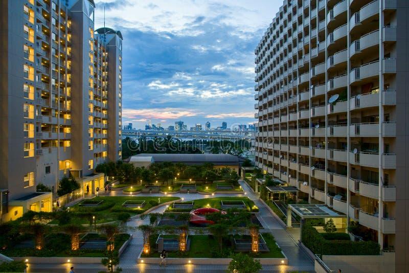 Tokio panoramy widok fotografia royalty free