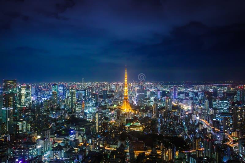 Tokio pejza? miejski zdjęcia stock