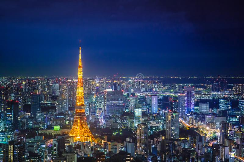 Tokio pejza? miejski obraz royalty free
