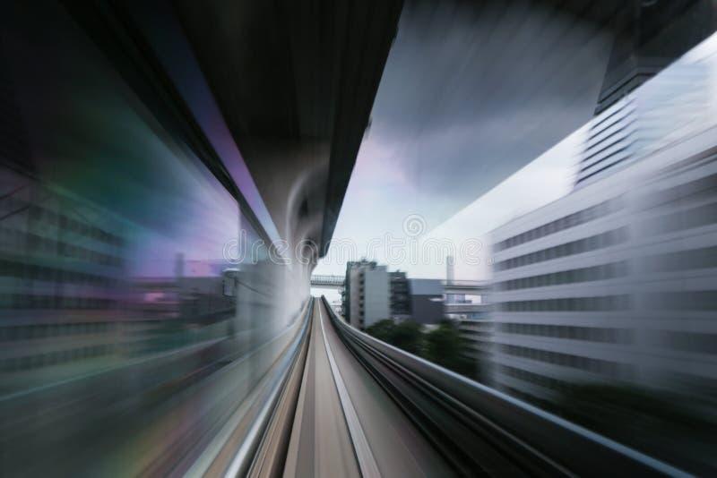 Tokio prędkości Wysoki czerń obrazy royalty free