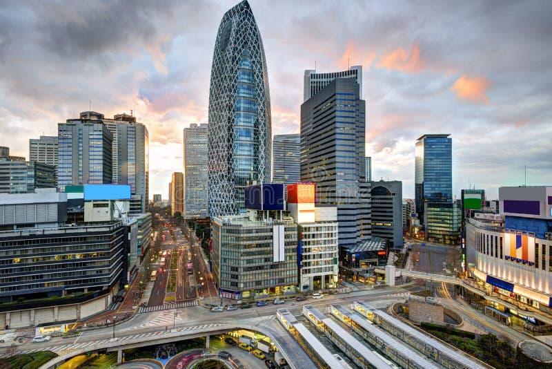 Tokio przy Shinjuku zdjęcie stock