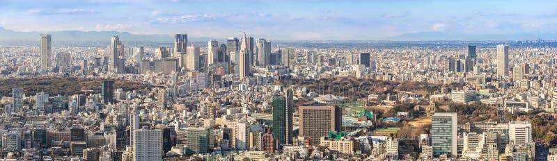 Tokio Shinjuku linie horyzontu zdjęcie royalty free