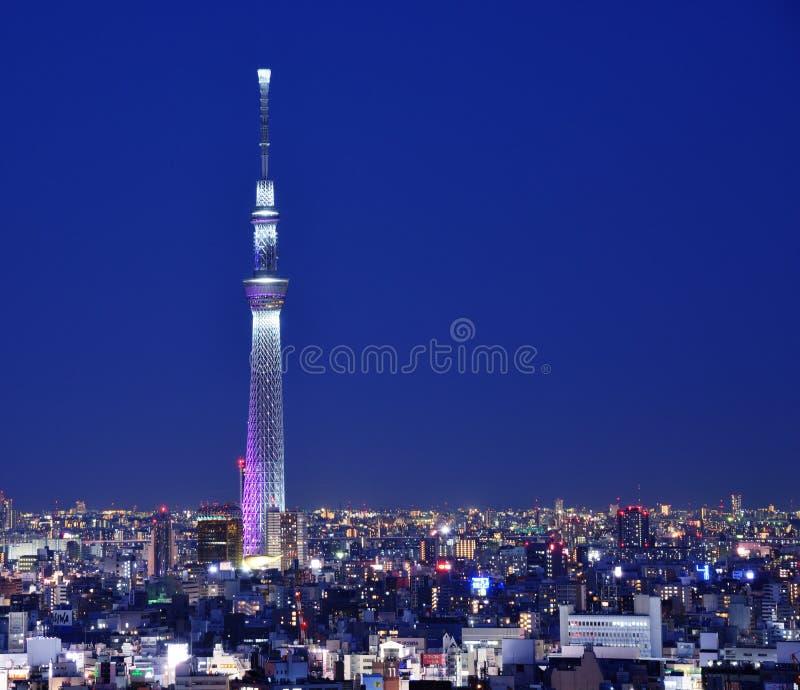 Tokio Skytree imagen de archivo libre de regalías