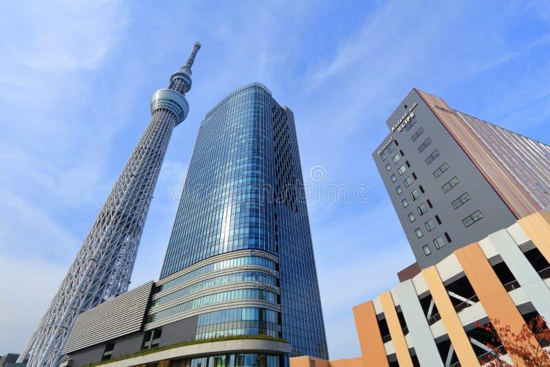 Tokio Skytree, Japón foto de archivo