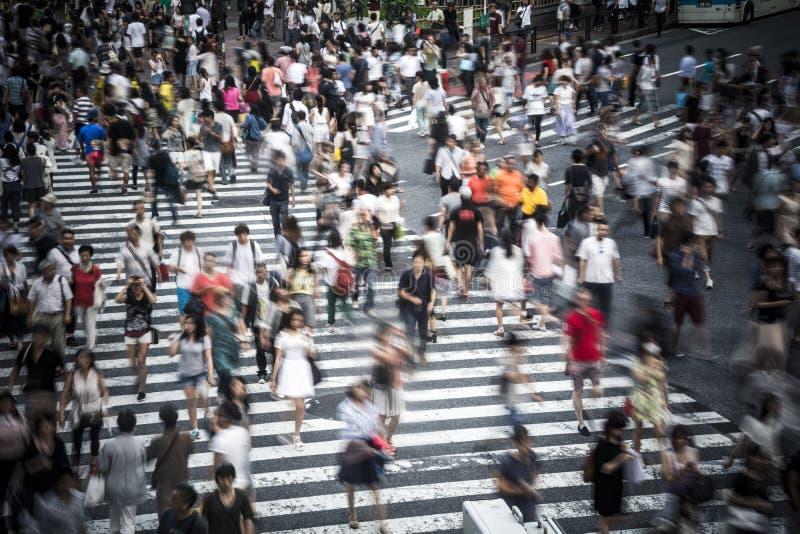 Tokio tłum zdjęcie stock