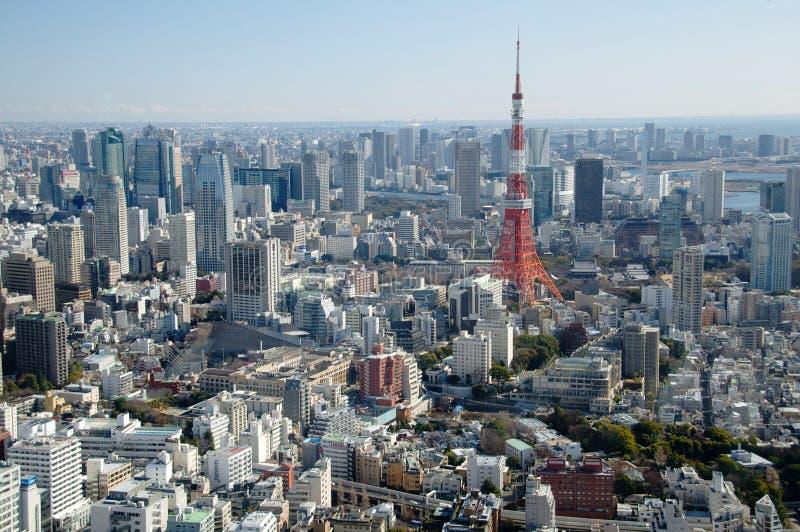 Tokio wierza fotografia royalty free