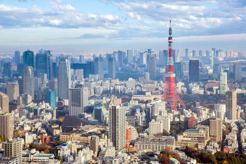 Tokio wierza Japonia fotografia stock
