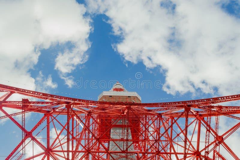 Tokio wierza w Tokio Japonia obraz royalty free