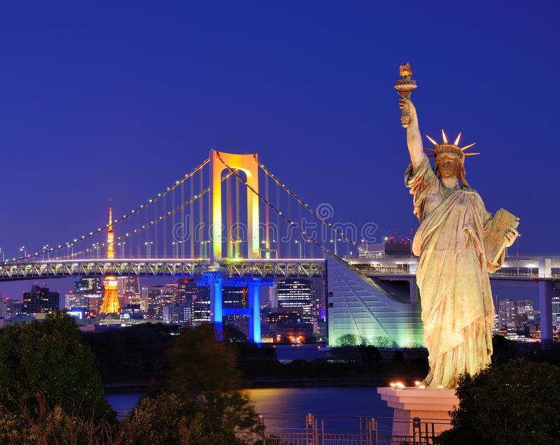 Tokio zatoka obrazy royalty free