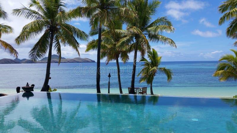 Tokoriki海岛,斐济 免版税库存照片