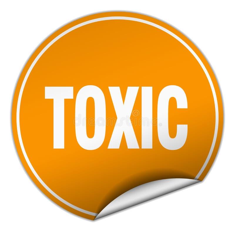 toksyczny majcher ilustracja wektor
