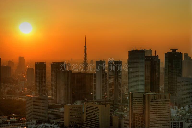 Tokyo étouffante image stock