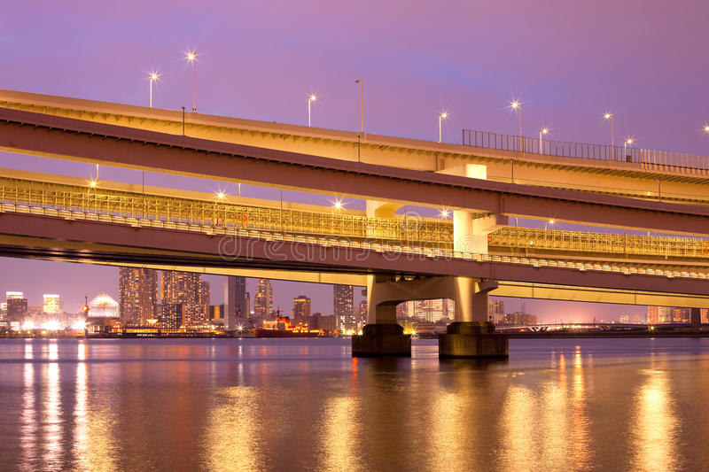 Download Tokyo stock image. Image of structure, night, odaiba - 14535957