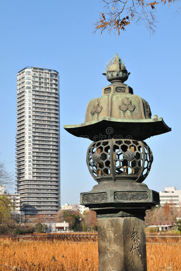 Tokyo architecture royalty free stock image