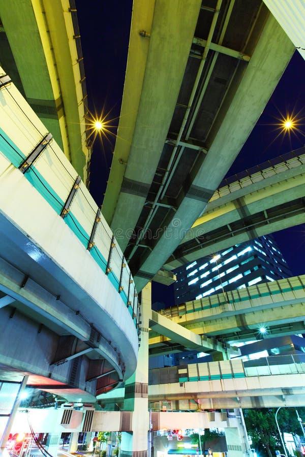 Tokyo-Autobahn stockfotografie