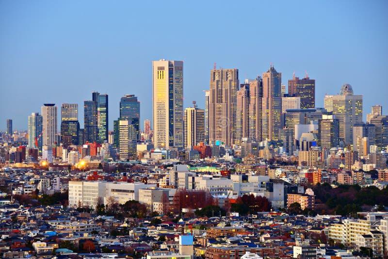 Tokyo bei Shinjuku stockbild