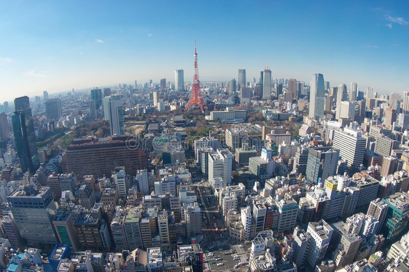 Tokyo City View Editorial Photography