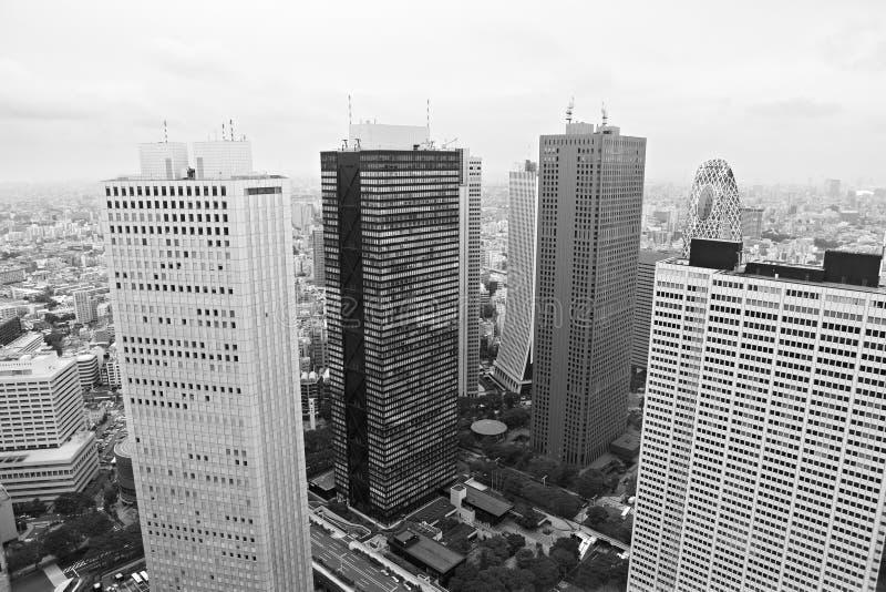 Tokyo: cityscape royalty-vrije stock afbeelding