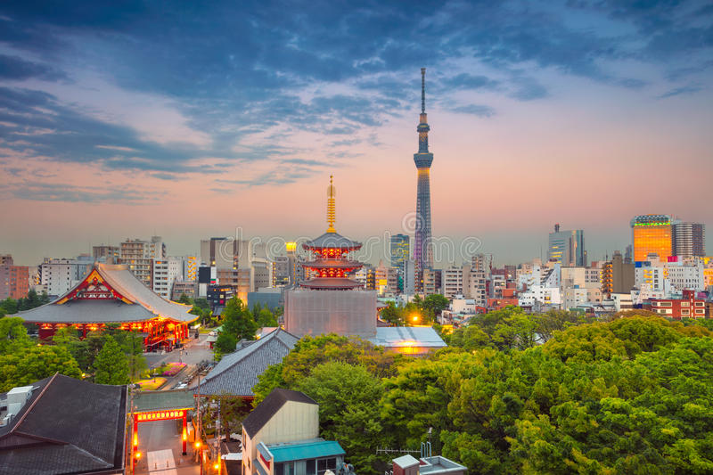 Tokyo. royalty free stock images