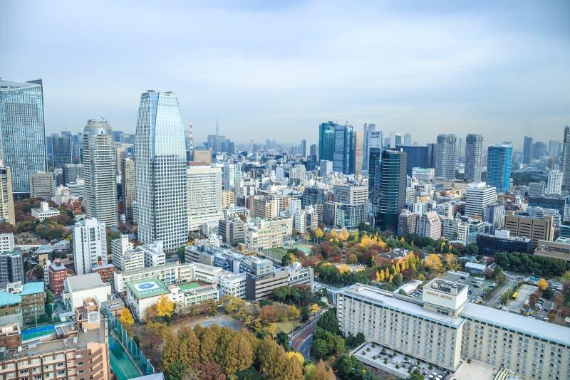 Tokyo cityscape arkivfoto