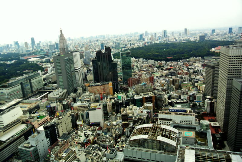 Tokyo dal tetto fotografia stock