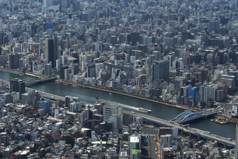 Tokyo de ci-avant photos libres de droits
