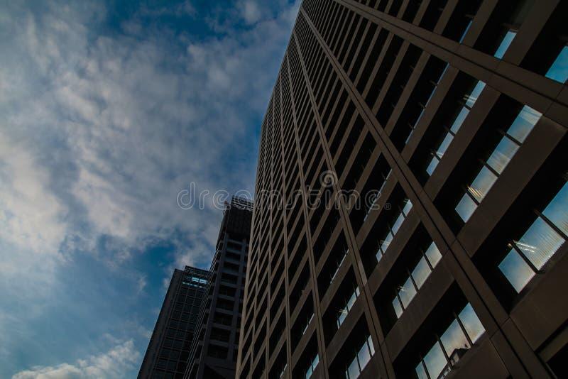 Tokyo de hemel royalty-vrije stock foto