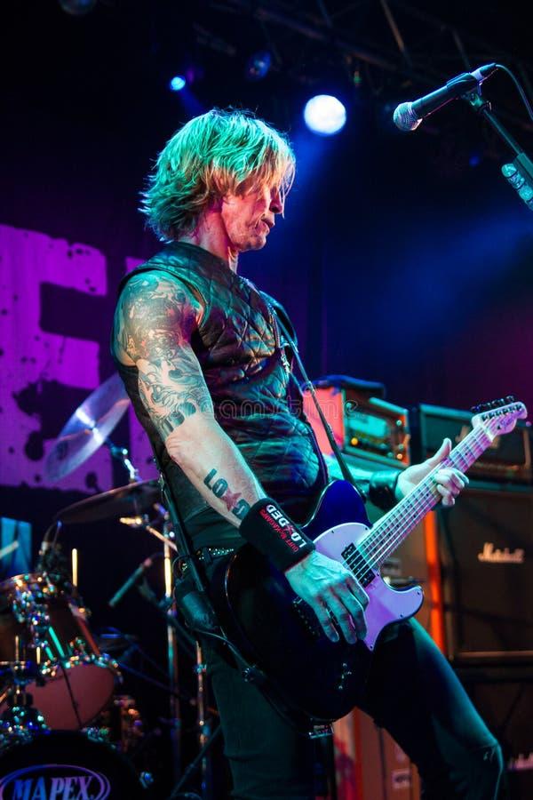 Download Duff McKagan 2 foto editorial. Imagem de guitarra, injetores - 29841726