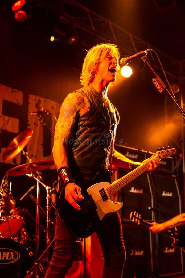 Download Duff McKagan 3 foto de stock editorial. Imagem de luzes - 29841728