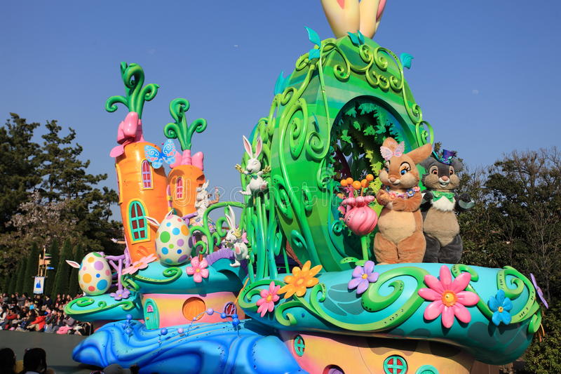 Tokyo Disneyland, Japan stock foto