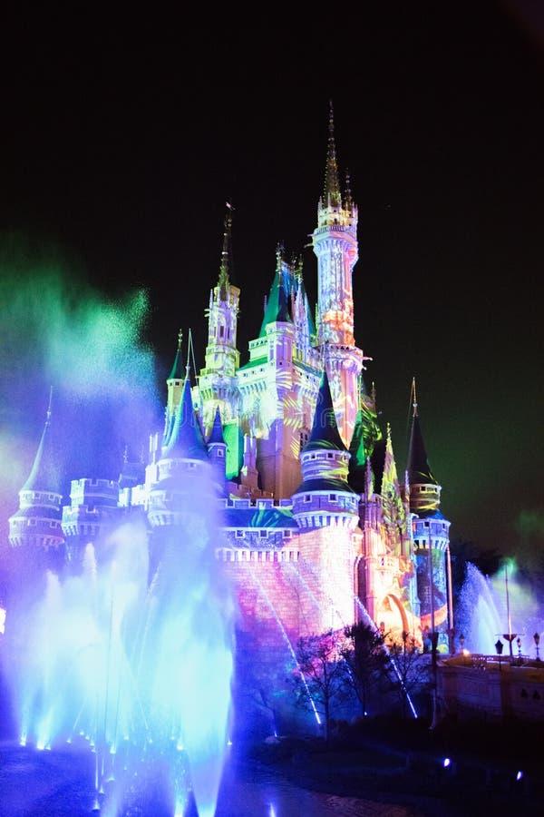 Tokyo Disneyland Resort i Japan royaltyfria foton