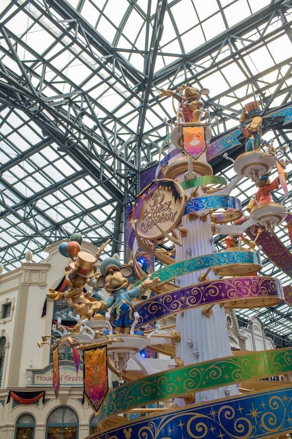 Tokyo Disneyland Resort in Japan stock foto
