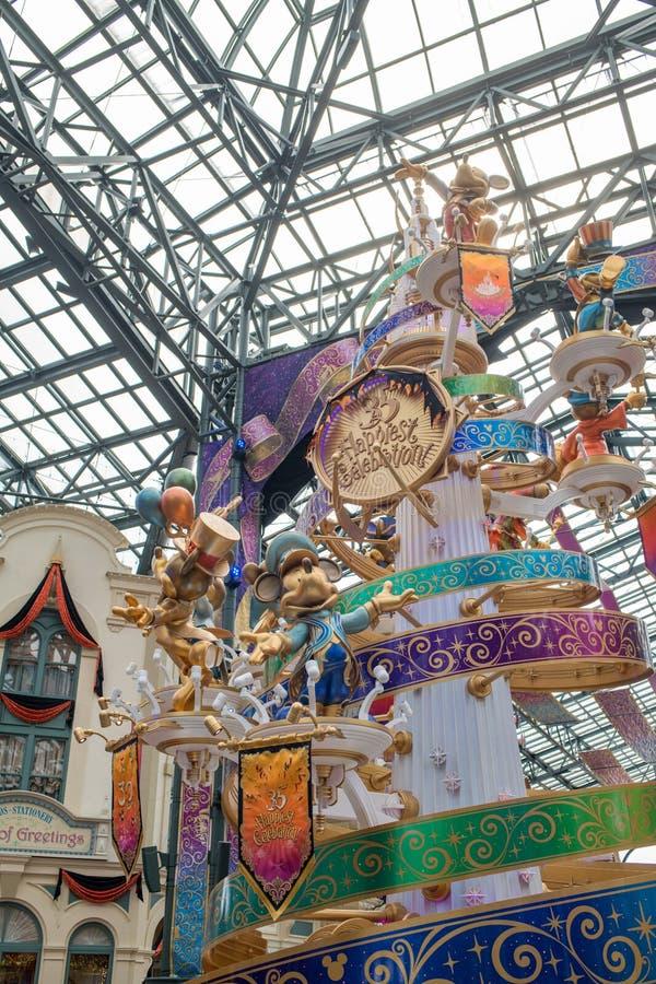 Tokyo Disneyland Resort in Japan royalty-vrije stock foto's
