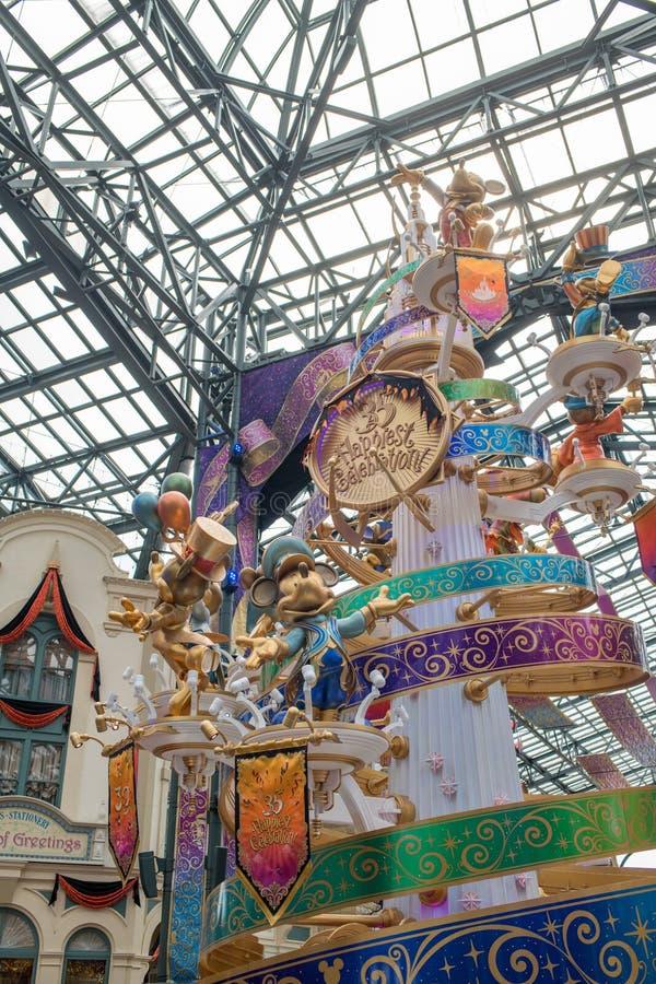 Tokyo Disneyland Resort in Japan royalty-vrije stock fotografie