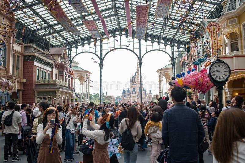 Tokyo Disneyland Resort in Japan royalty-vrije stock afbeeldingen