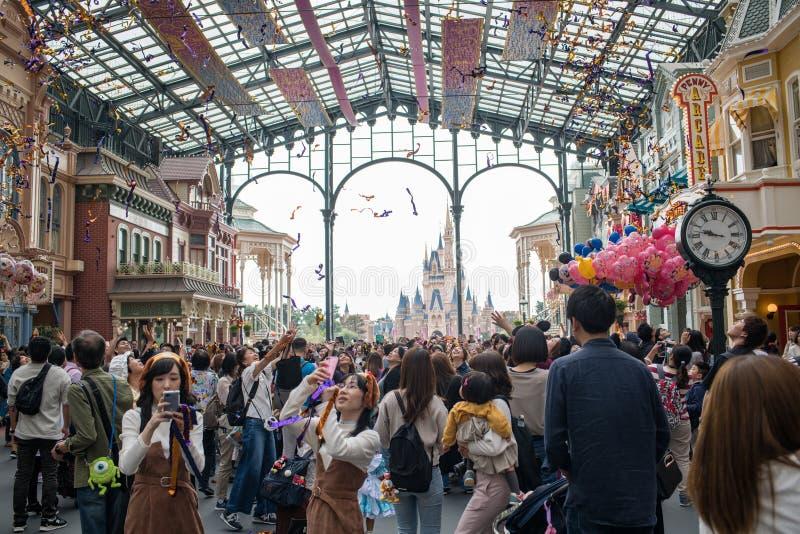 Tokyo Disneyland Resort in Japan royalty-vrije stock afbeelding