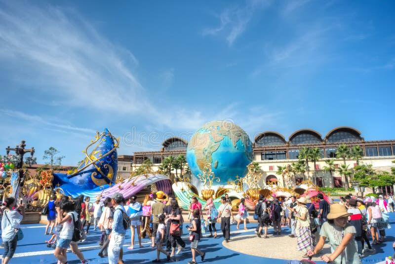 Tokyo Disneysea royaltyfri fotografi