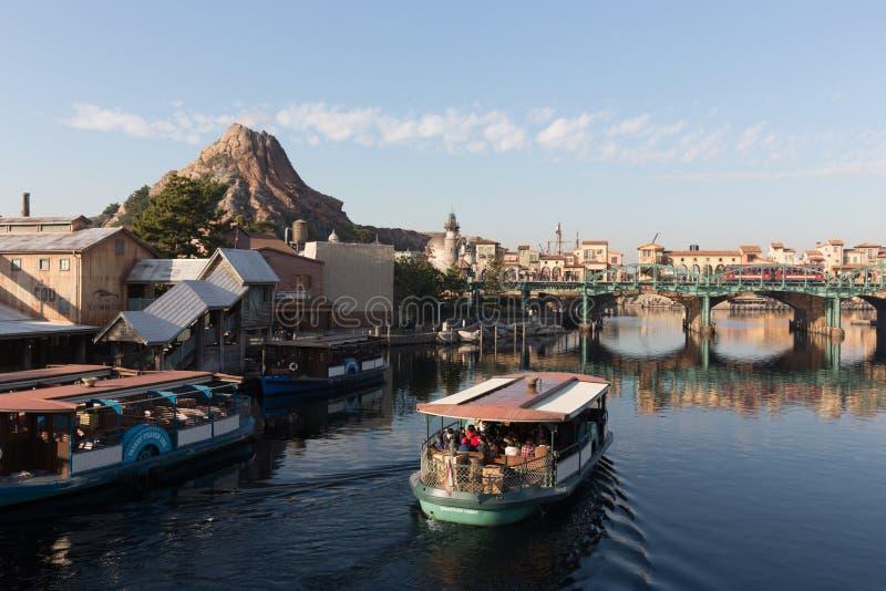 Tokyo DisneySea i Japan arkivfoto