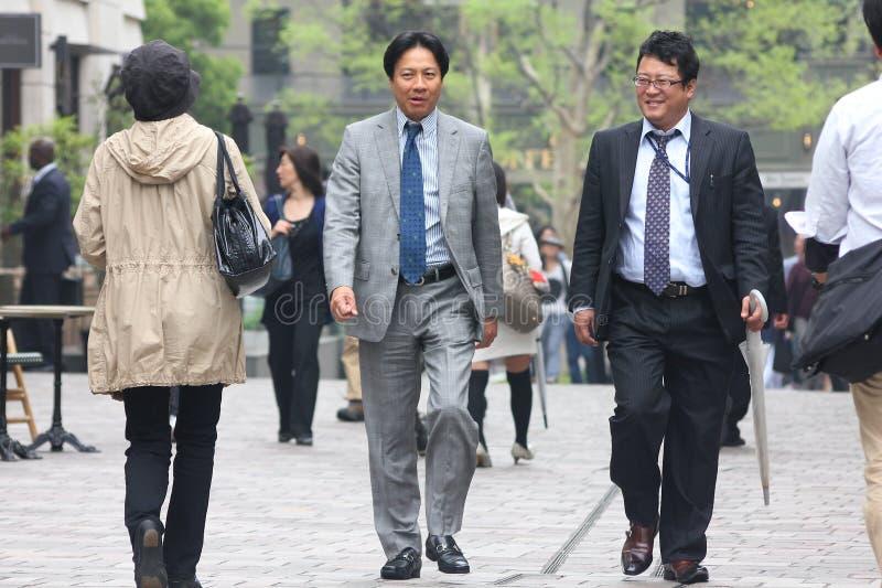 Tokyo folk arkivbild