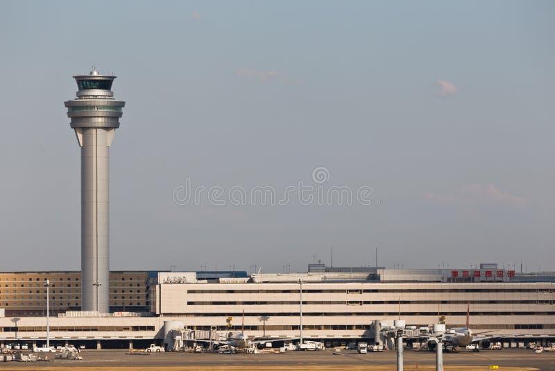 Tokyo HANEDA flygplats royaltyfri fotografi
