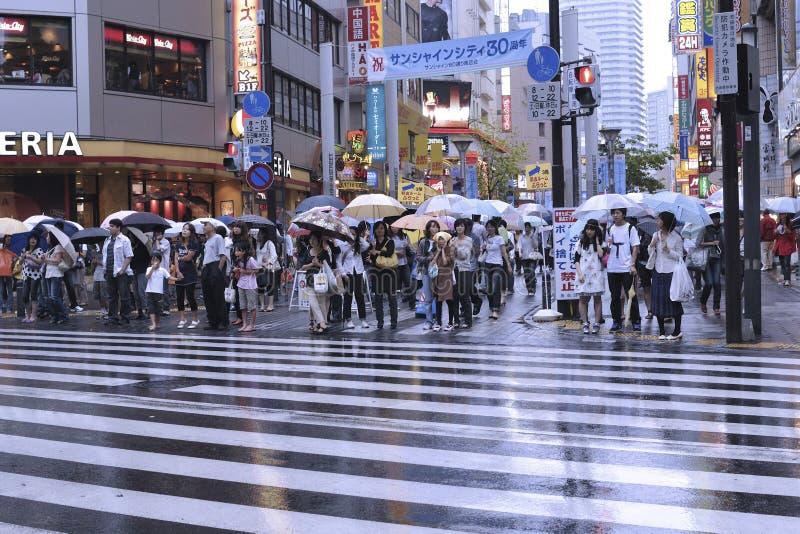 Tokyo, Ikebukuro royalty free stock images