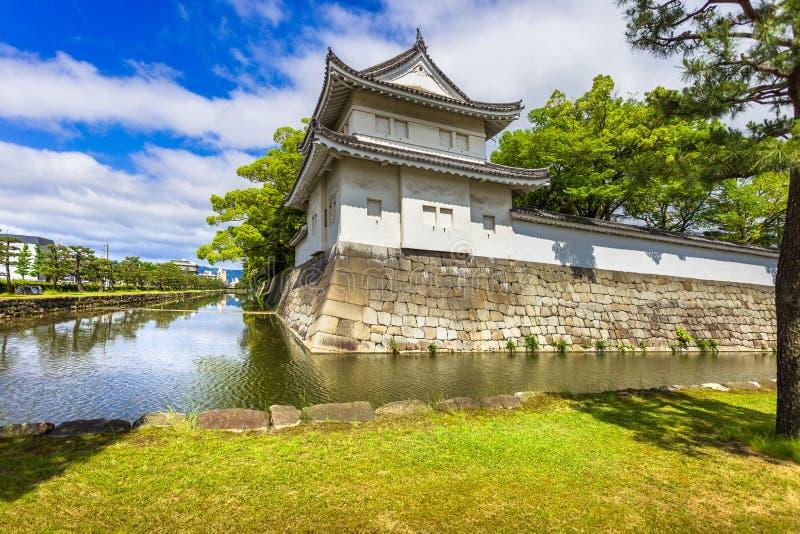 Tokyo imperialistisk slott och vattenkanal japan royaltyfria foton