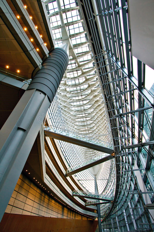 Download Tokyo International Forum stock photo. Image of looking - 12998006