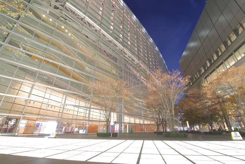 Tokyo international forum modern architecture building Japan stock photo