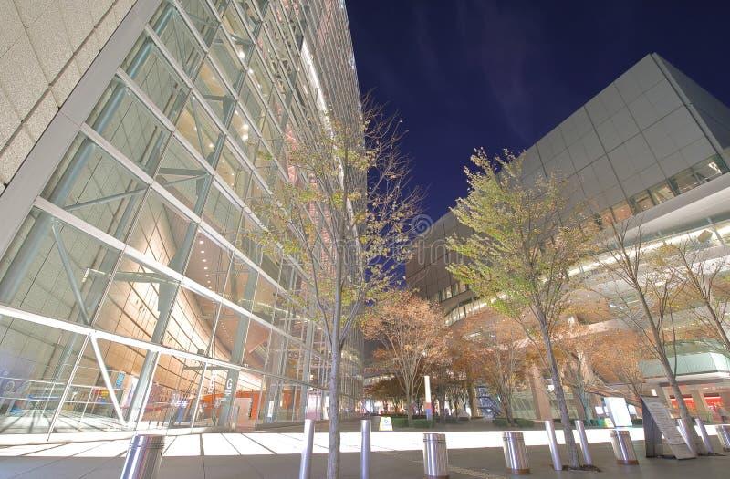 Tokyo international forum modern architecture building Japan royalty free stock photos