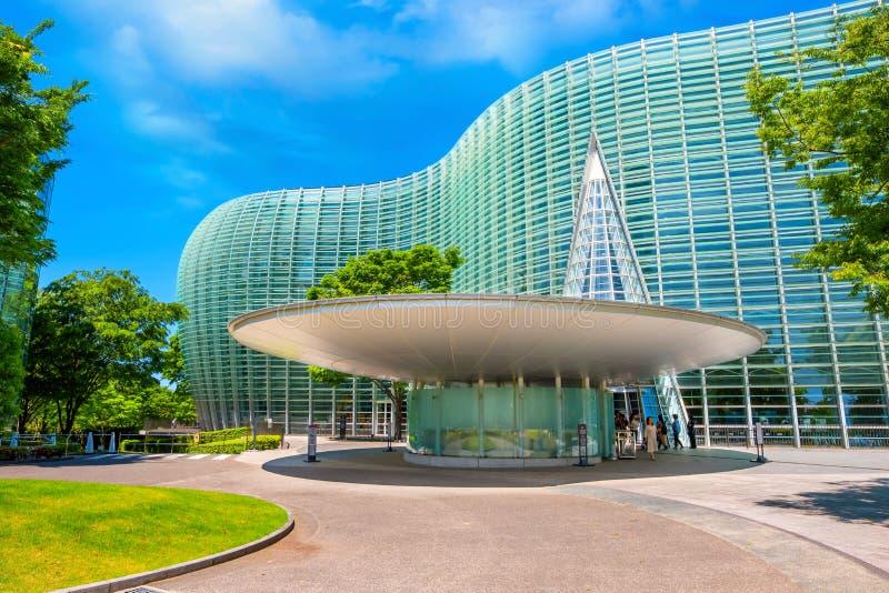 The National Art Center in Roppongi, Tokyo, Japan royalty free stock photo