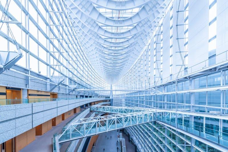 Tokyo, Japan - Jun 18, 2018 - The architecture interior design o royalty free stock image