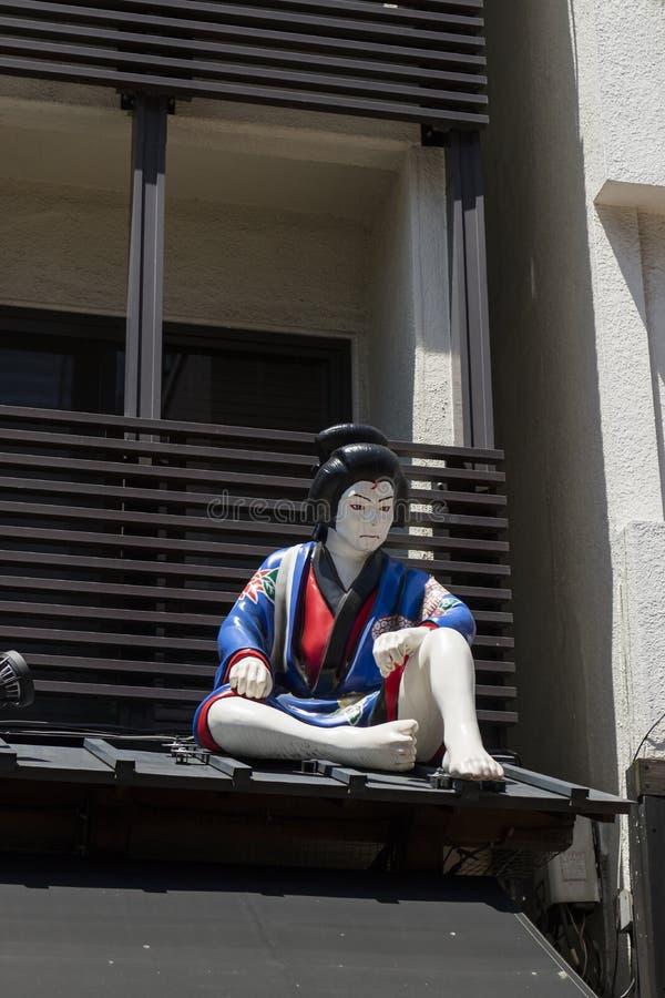 Tokyo - Japan, am 19. Juni 2017; Zahl eines Bandes von 5 Dieben, a lizenzfreies stockbild
